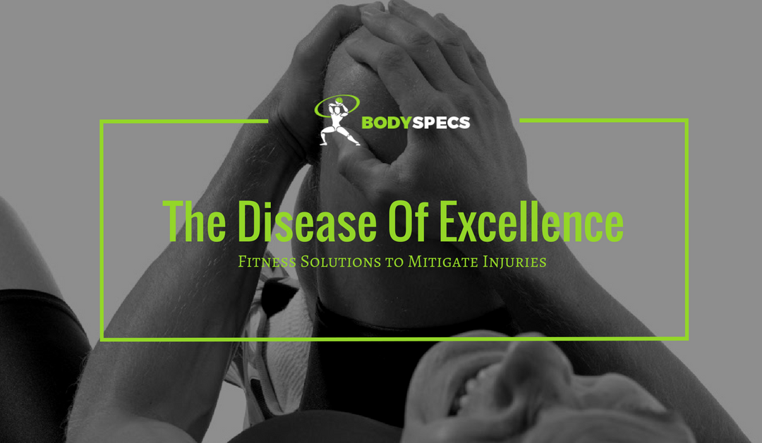Disease of Excellence - featured blog image | man with knee injury